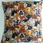 LARGE CATTLE COW THEMED CUSHION - Animals (3)